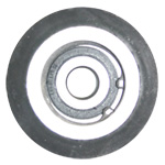 "Type ""R"" Step Roller  CompletePart No. L-69VThis step roller is for a Viola Manlift. It can also be used on an Ehrsam Manlift. This part includes, bolt, nut, and spacer."