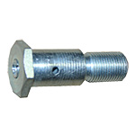 Step Roller Bolt with Lock Nut & Grease FittingPart No. P-202-6ALock nut is included with the bolt. For use on L-75 Step Roller with Bushing.