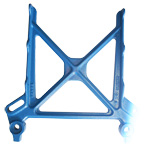 Step Bracket, Allis-Chalmers, FinishedPart Nos. NM-20455L & NM-20455RThis is a step side for an Allis-Chalmers Manlift.