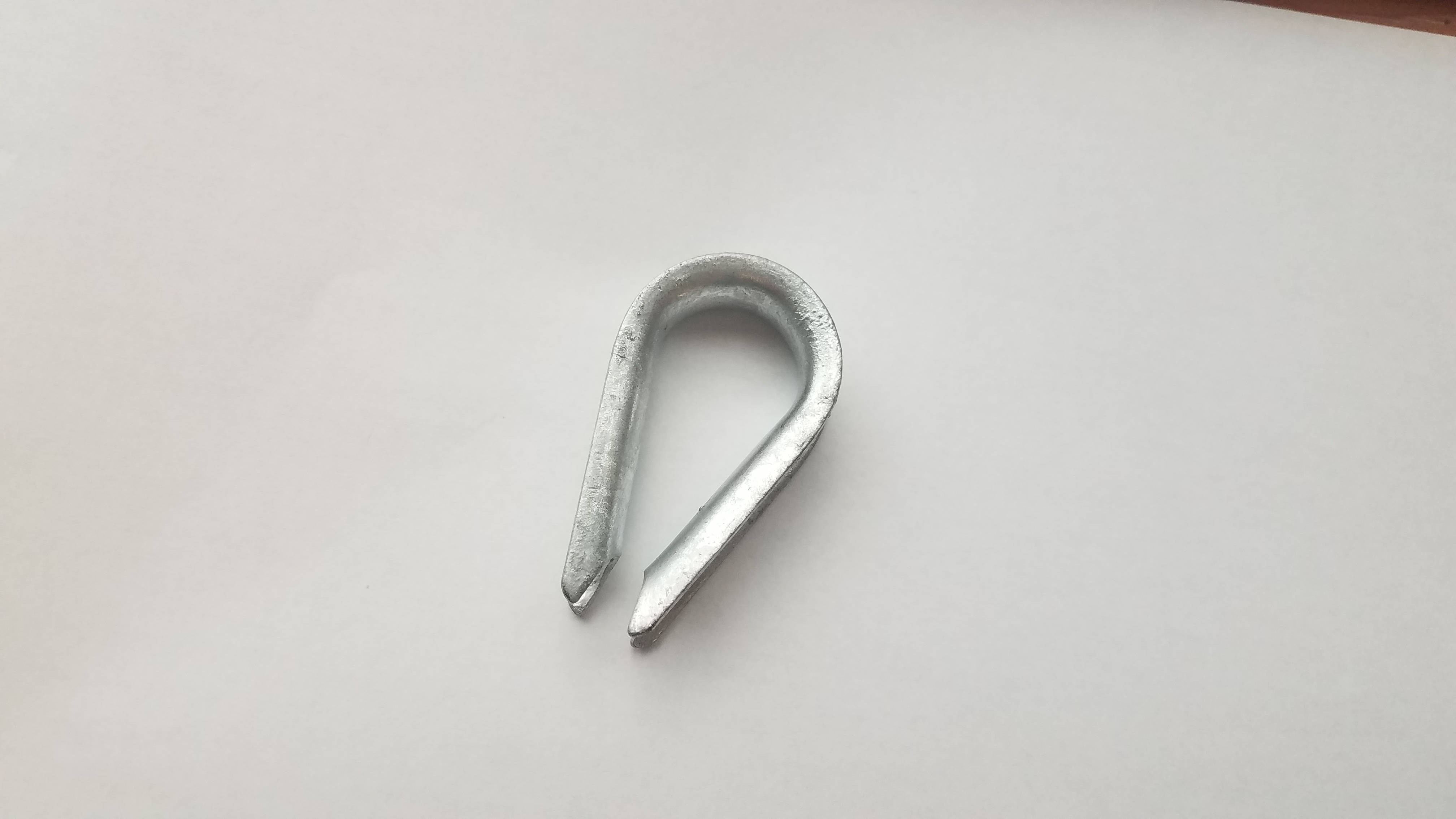 Thimble, Rope, 3/8″ for Control Rope - Belt Manlift Sales, Equipment ...
